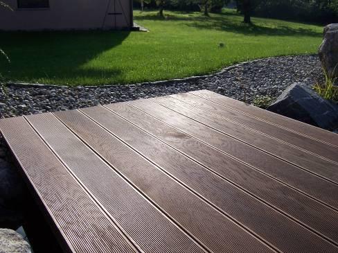 terrassendielen thermoholz esche riffeldiele dielenl nge 210 cm 200500. Black Bedroom Furniture Sets. Home Design Ideas